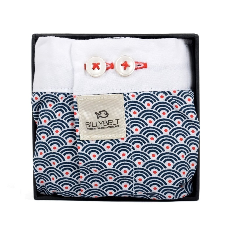 Men organic cotton boxer shorts japanese pattern