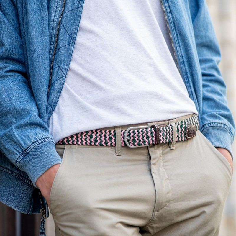 Elastic woven belt  The Berlin