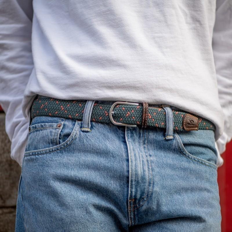 Elastic woven belt  The Bilbao