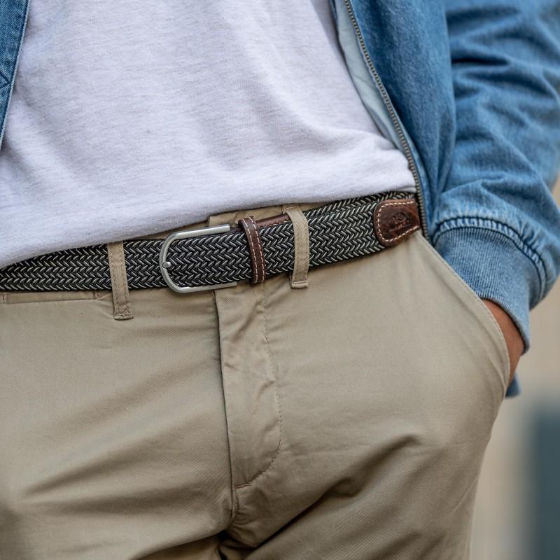 Elastic woven belt  The Vienna