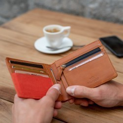 Wallet  Orange Brick