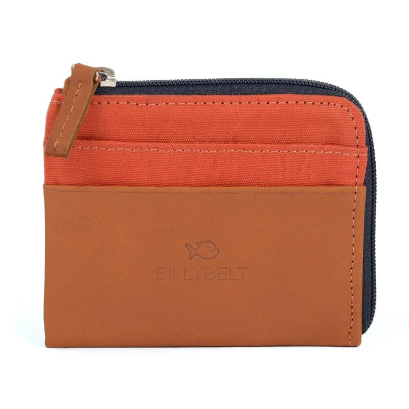 Porte-cartes Porte monnaie orange