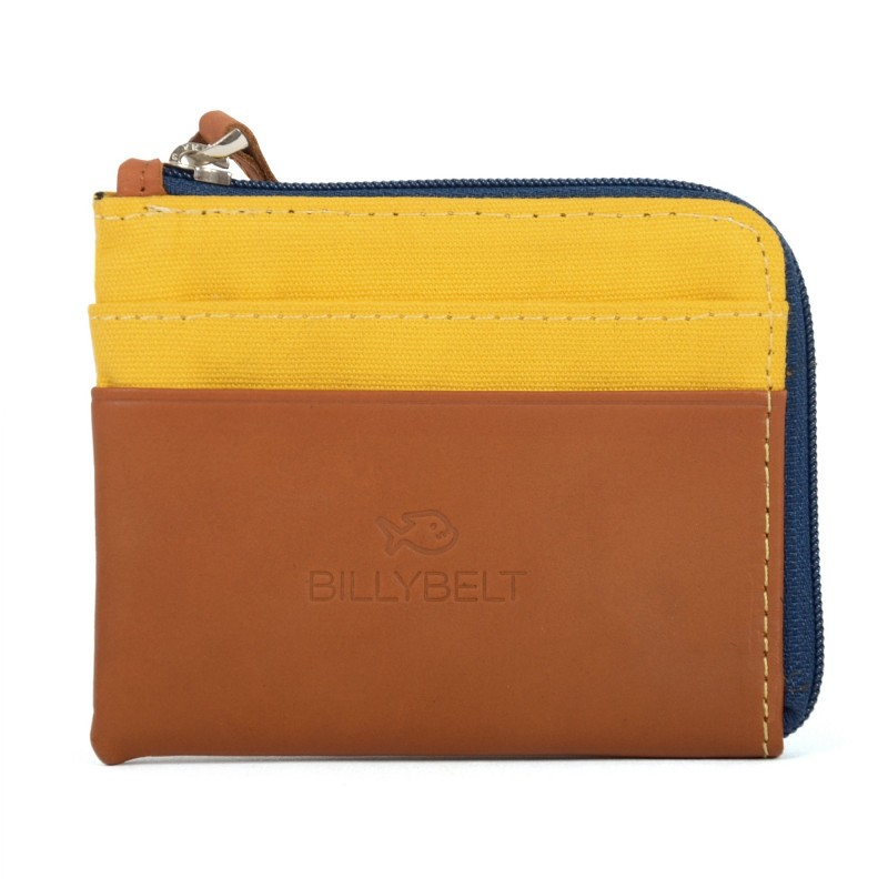 Card Holder Purse yellow