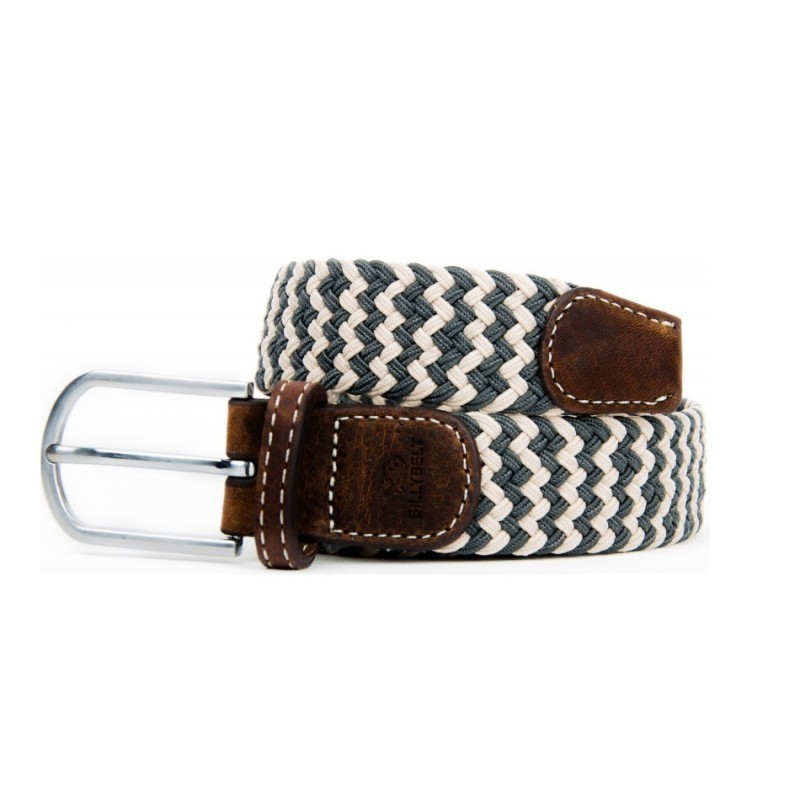 Panama braided belt for men