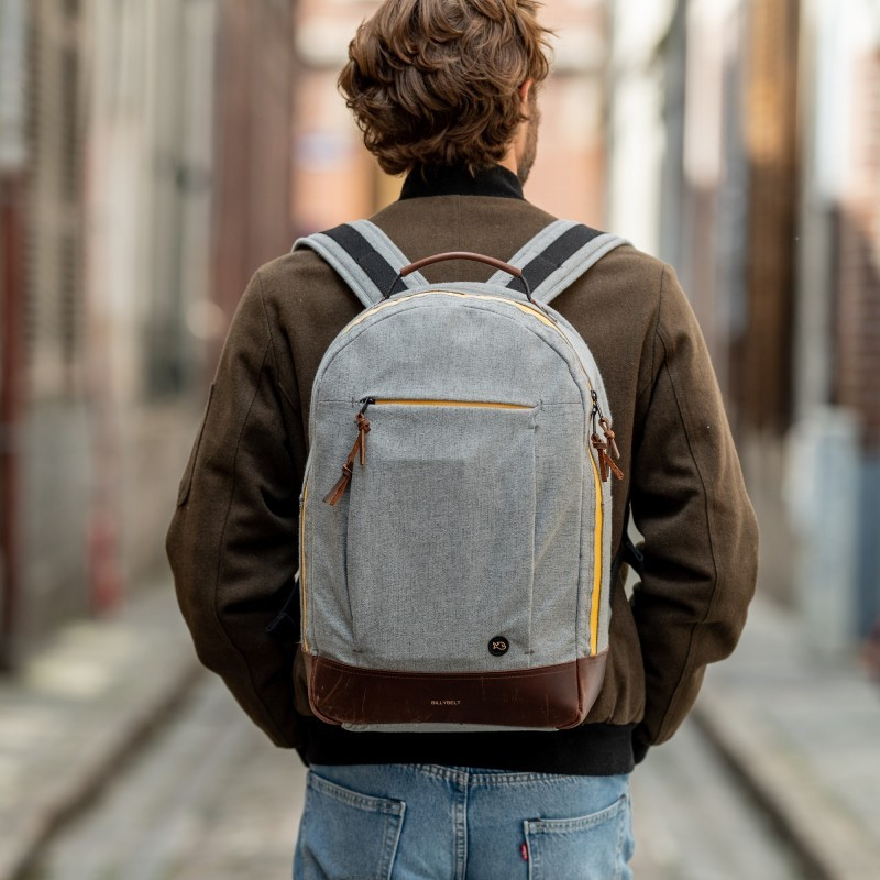 Backpack  Mottled Grey