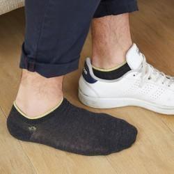 Socquettes coton Gris Foncé