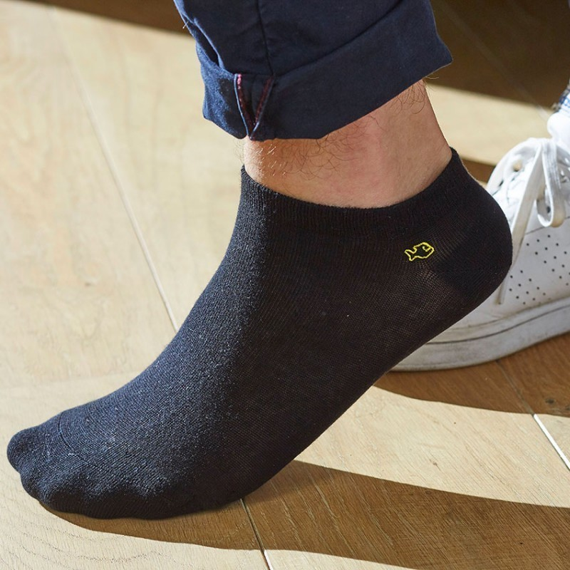 Cotton ankle socks Black
