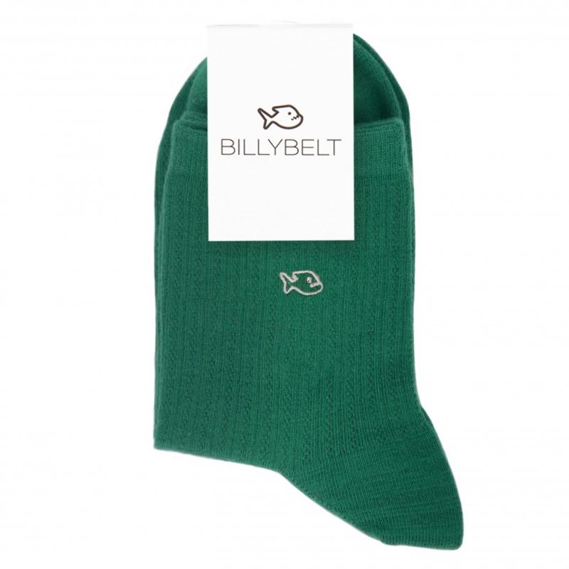 Cotton socks Lace Green