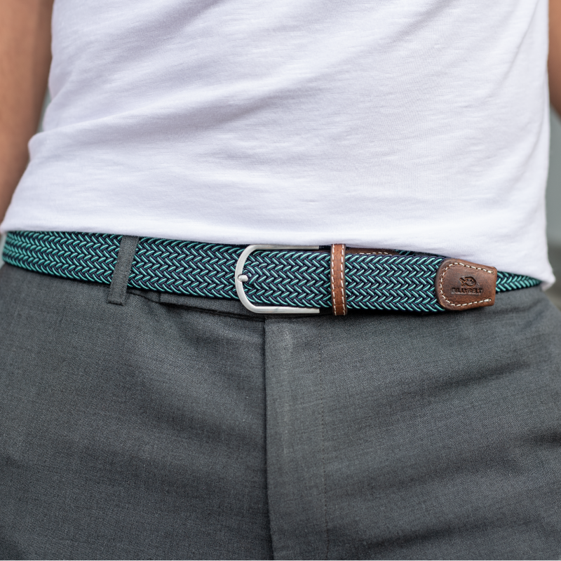 Elastic woven belt The Cape Verde