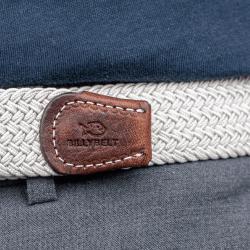 Elastic woven belt  Seagull Grey
