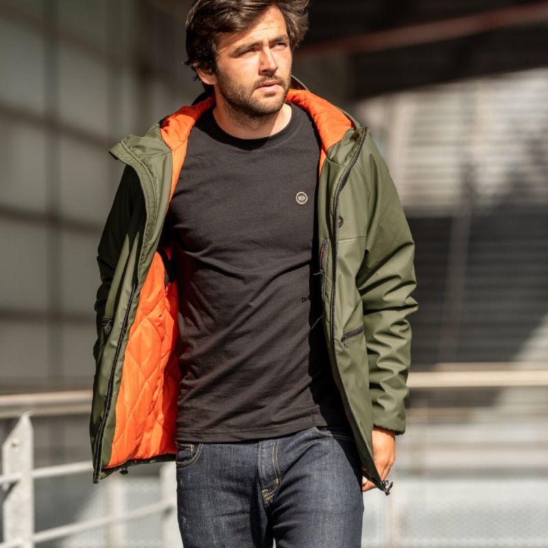 Khaki coat : Greenwich