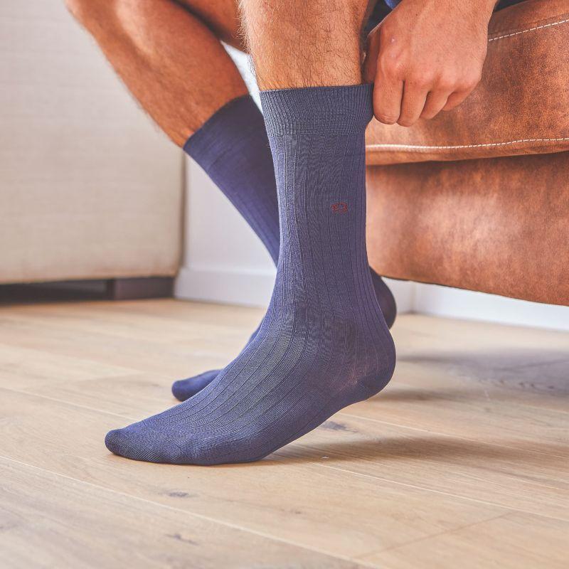 Lisle socks   Slate Grey