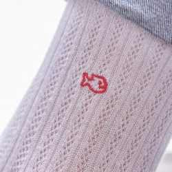 Cotton socks Lace White