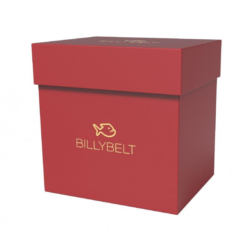 Dark red box