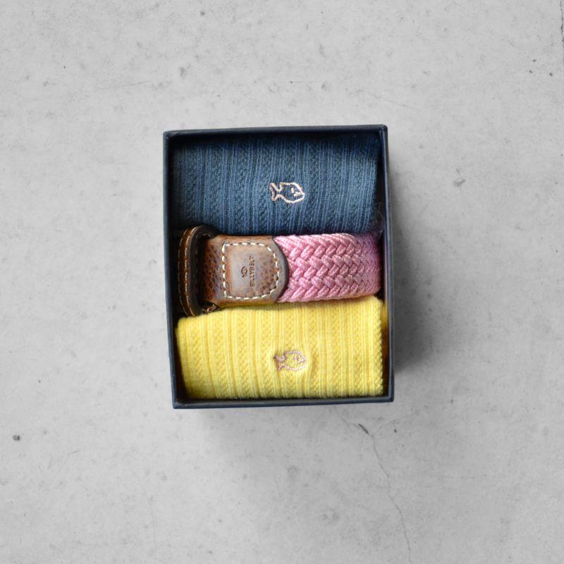 Coffret 1 ceinture + 2 chaussettes