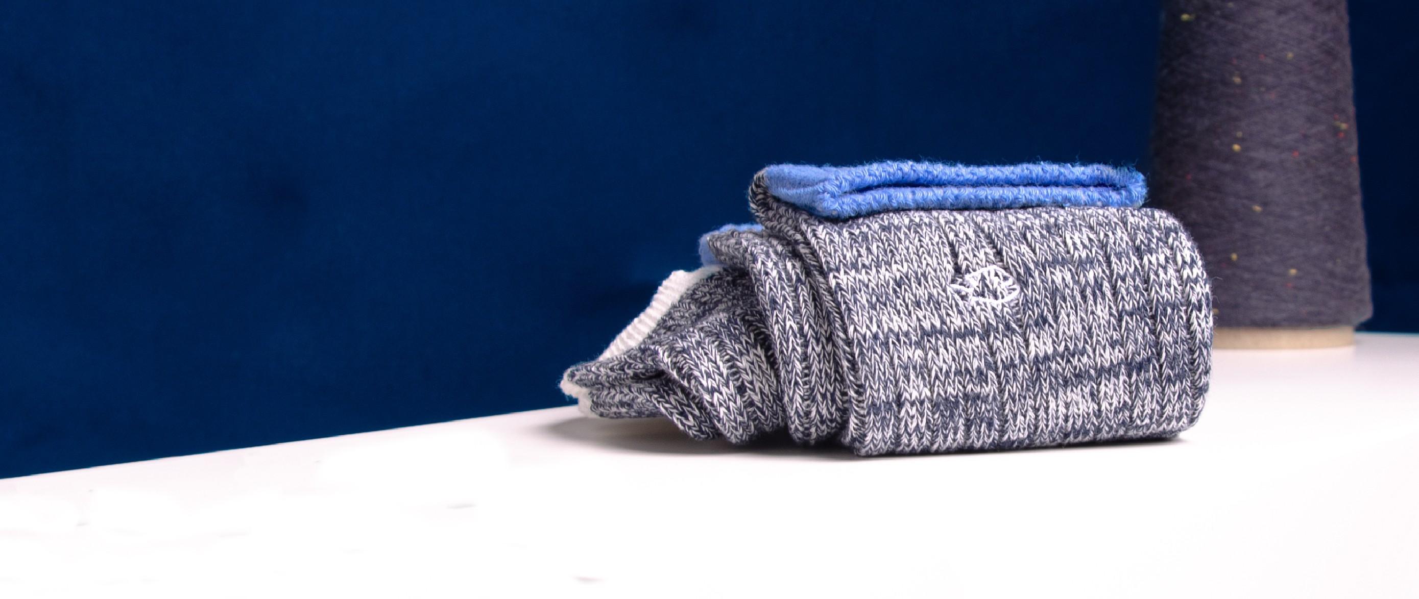 Chaussettes épaisses en coton homme