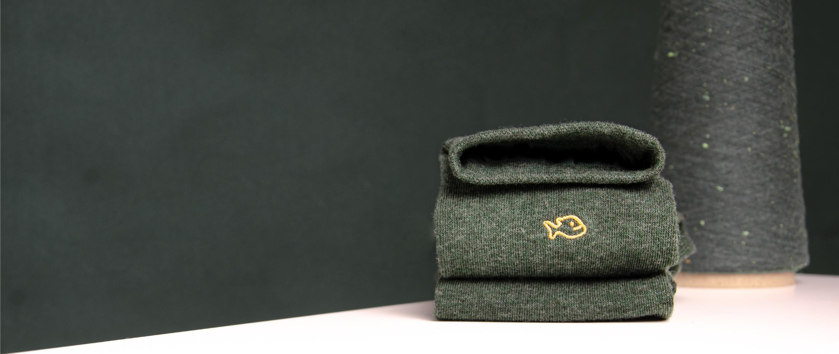 Chaussettes homme unies en coton