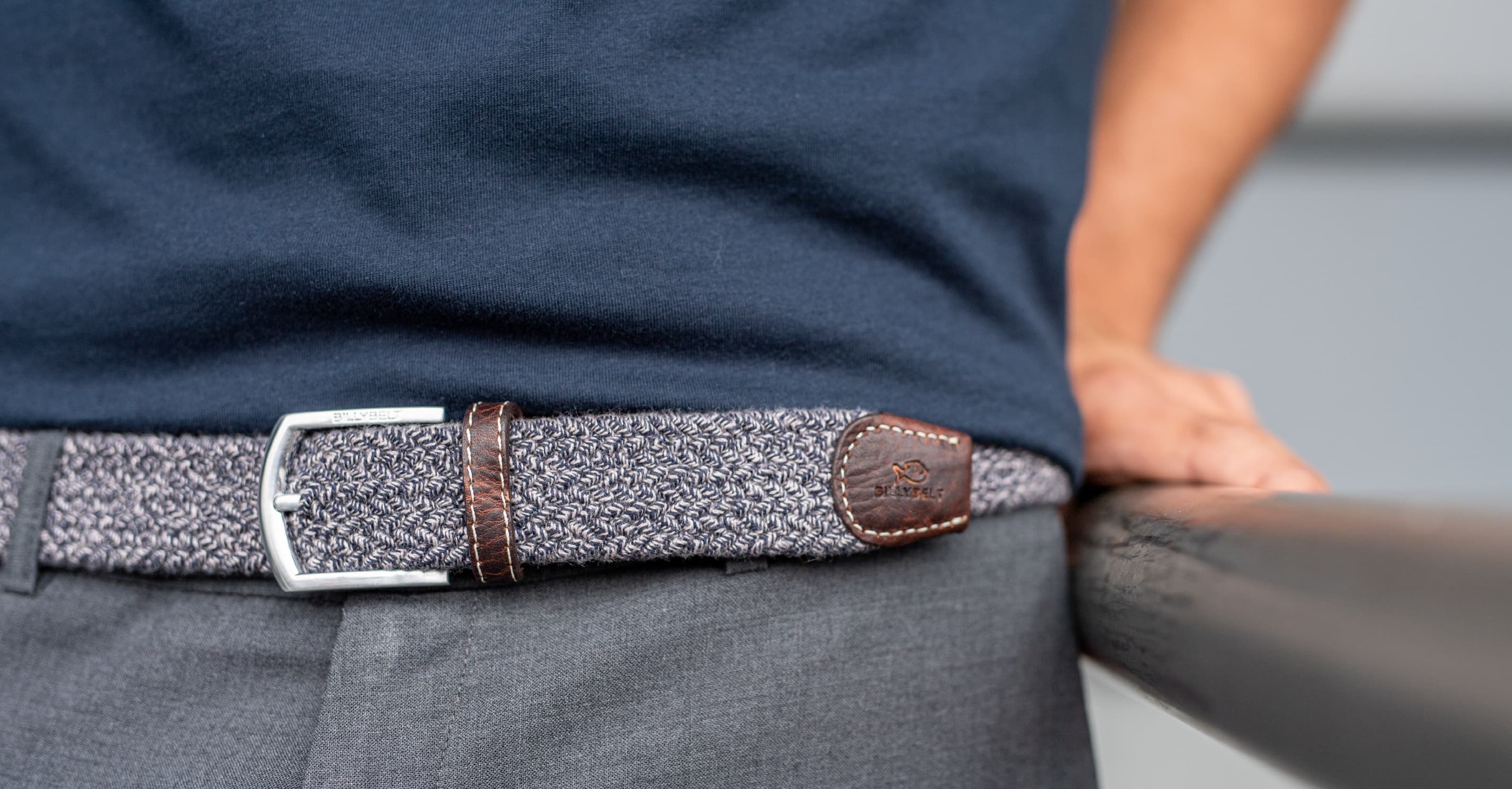 This collection of belts are different than the other because they are made in pure wool and cotton. Like every BILLYBELT's products, you can use them for a long time and be quite sure to keep its shape better too. It exists different king of wool and cotton braided belts for men (plain, spicy and mottled), then offering three stylish touches for your everyday outfits. The braided design is an accessory that your wardrobe was missing. As the plain and multicoloured braided belts, the wool and cotton braided belts adapt to all silhouettes. When you wear them, you feel like a custom fit. All these belts are delivered in an individual 100% raw cotton bag.