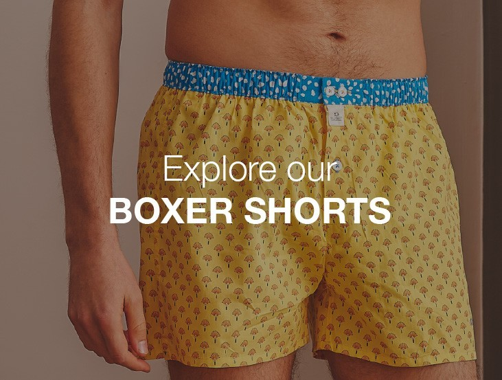 Organic cotton Boxer shorts for men
