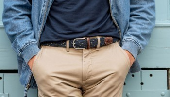 What to wear with beige or camel trousers?
